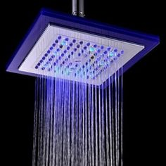 Cy8008 A14 Round Water Saving Automatic Color Changing Led Hand Shower Ed Held Bathroom Head Fixtures Pinterest