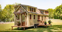 Sommerhuset på hjul er bare 32 kvadratmeter, indersiden ligner ikke noget du har set før