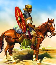 Roman cavalry- by Pablo Outeiral