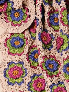 Kiwil Afghan By Katherine Eng - Free Crochet Pattern With Website Registration - (free-crochet)