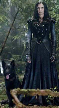 """Famke Jannsen as the Witch Muriel in """"Hansel And Gretel  : Witch Hunters"""""""