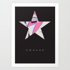 Ziggy BlackStarDust Art Print
