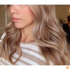 Perfect beige blonde