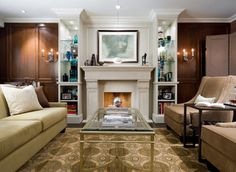 Candice Olson Design - traditional - living room - toronto - by Brandon Barré Architectural Interior Photographer
