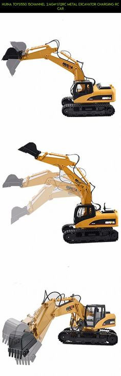 HuiNa Toys1550 15Channel 2.4G 1/12RC Metal Excavator Charging RC Car #huina #gadgets #rc #drone #shopping #plans #products #parts #fpv #technology #camera #tech #kit #racing #excavator