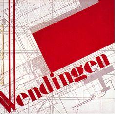 By S.L. Schwarz, 1 9 3 1, Wendingen periodical. (D)