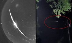 FLASHBACK: 07/01/2015 - Mystery fireball seen in southeastern US yesterday was SPACE JUNK, says NASA