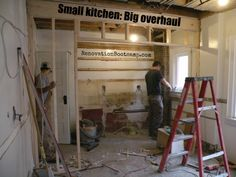 Big re-sale benefits can come from renovating small kitchens. See the Little Kitchen That Could project designed by @sieguzi RenovationBootcamp.com
