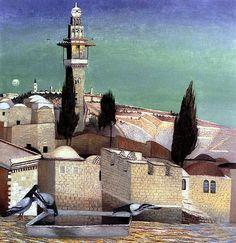 The Mount of Olives in Jerusalem (Tivadar Kosztka Csontvary, 1905)