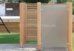 Sichtschutz für Mülltonne Pergola: Perfekter Sichtschutz für den Garten - Pergola aus Holz