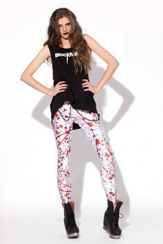 Black Milk Blood Splatter Big Leggings