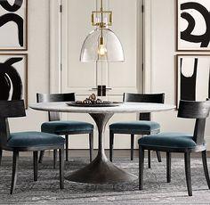 Most popular ways elegant interior design modern dining room 12 Mesa Oval, Interior Exterior, Interior Design, Round Dining Table, Marble Dinning Table, Modern Dinning Table, Round Tables, Luxury Home Decor, Dining Room Design