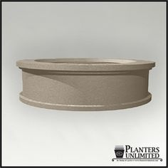 Dartington Round Low Bowl Planter