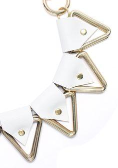 MOXHAM_White Apis Necklace_Bengt Fashion_closeup