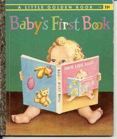 """BABY'S FIRST BOOK"" by GARTH WILLIAMS - A Little Golden Book"