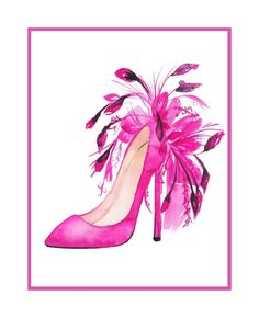 Feather Shoe