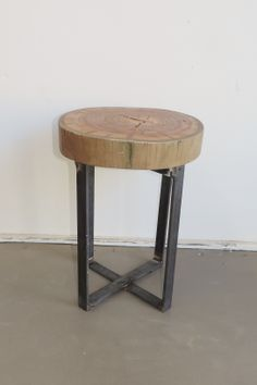 Using 10 year old telephone poles, we create these stools in all shapes and sizes.