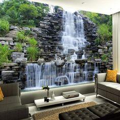 Waterfall Wallpaper Art