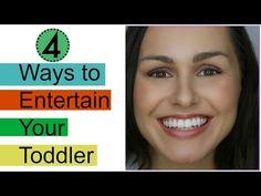 4 Fun Ways To Entertain A Toddler | Silvie Smiles - YouTube Entertaining, Fun, Life, Funny, Hilarious