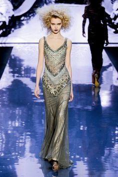 Jospehine Skriver for Badgley Mischka Fall 2012 Ready-to-Wear