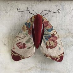 Newest Images Textile art sculpture Popular Vintage Petite Point Moth, Needlepoint Butterfly Soft Sculpture, OOAK Textile Art Doll Sewing Art, Sewing Crafts, Fabric Animals, Insect Art, Textiles, Butterfly Crafts, Textile Artists, Soft Sculpture, Fabric Art