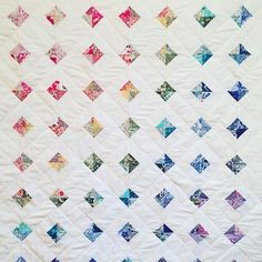So partner it's no secret I love rainbows so here's some inspo Liberty Quilt, Liberty Fabric, Quilt Baby, Quilting Projects, Quilting Designs, Quilting Ideas, Charm Square Quilt, Modern Quilt Patterns, Traditional Quilt Patterns