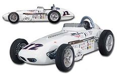 PhillyMint- Carousel- 1961 Watson Dean Van Lines Special #12- Eddie Sachs- Indy 500 1:18th Diecast model