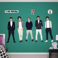 Fathead RealBig One Direction Wall Decal