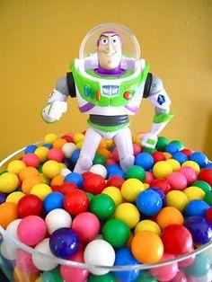 mesa de dulces chicles bola