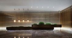 Resort hotel reception