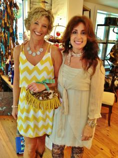 RELISH Boutique, exclusive retailer of SBJ bags, in Ana Maria Island, FL hosts Trunk Show for Sarabella James...Missy looks fab with 'Happy Everything'