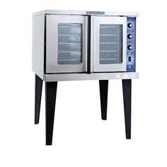 208V Single Phase Bakers Pride GDCO-E1 Cyclone Series Electric Convection Oven Single Deck - 10,500 Watt