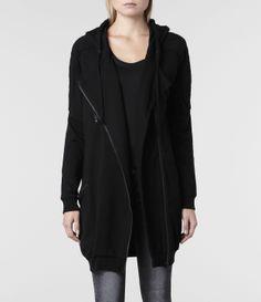 AllSaints Ridley Hoody | Womens Sweatshirts