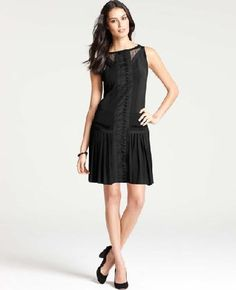 AnnTaylor 1920s-inspired dress | More here: http://mylusciouslife.com/shopping-inspired-by-the-great-gatsby/