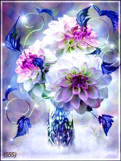 GIFS HERMOSOS: flores encontradaas en la web