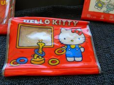 RARE Vintage Sanrio Hello Kitty 1976 Made in Japan Vinyl Wallet Purse Toy | eBay