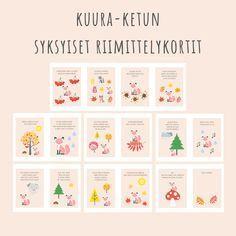Finnish Language, Childrens Yoga, Teaching Kindergarten, Early Childhood Education, Pre School, Preschool Activities, Advent Calendar, Baby Kids, Projects To Try