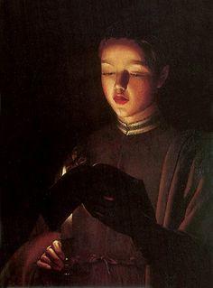 The Young Singer : Georges de La Tour : 1650. Art Experience NYC www.artexperiencenyc.com/social_login/?utm_source=pinterest_medium=pins_content=pinterest_pins_campaign=pinterest_initial