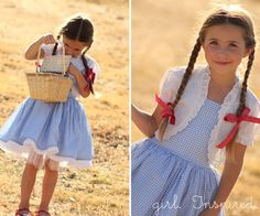 Dorothy Dress Tutorial - Girl. Inspired.