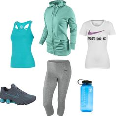 Workout Gear, created by nikegirl11.polyvore.com