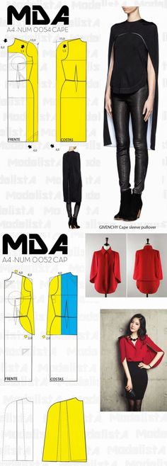 secondstreet.ru Doll Dress Patterns, Easy Sewing Patterns, Sewing Tutorials, Clothing Patterns, Make Your Own Clothes, Diy Clothes, Refashioned Clothes, Diy Fashion, Punk Fashion