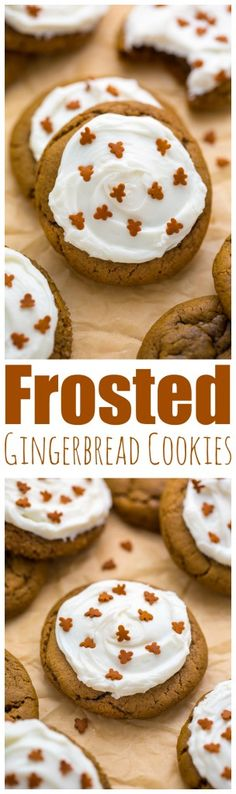 Frosted Gingerbread Cookies are fun to make and SO delicious!
