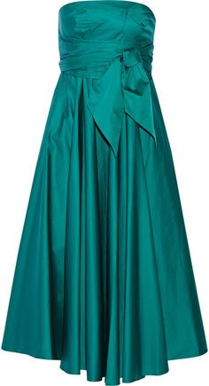Pin for Later: See in the New Year in Style in the Best NYE Dresses Tibi Strapless Satin-Poplin Midi Dress Tibi Strapless Satin-Poplin Midi Dress (£357, originally £595)