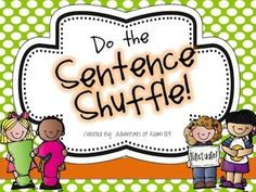 Sentence Shuffle - Ending Punctuation and Types of Sentences  This fun activity gets students up and out of their seats to help review two important concepts - Ending Punctuation and Types of Sentences     Students read sentences on the PPT slides and then move to the appropriate corner of the room that matches their answer.