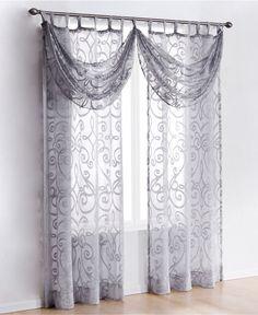 exclusive fabrics linen open weave cream sheer curtain panel