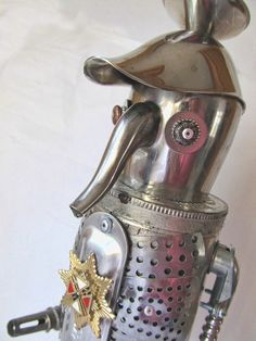 Corporal Carlos  Found Object Robot by BoltWerks on Etsy, $99.99