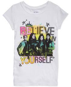 Disney Descendants Girls' Believe in Yourself T-Shirt