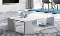 Mesa de centro con un diseño diferente. se puede hacer en tres medidas y en muchos acabados. ¿Sabes como quieres la tuya?