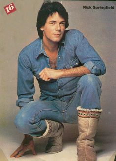 Rick Springfield was my first ever celebrity crush starting when I was 8 years old.