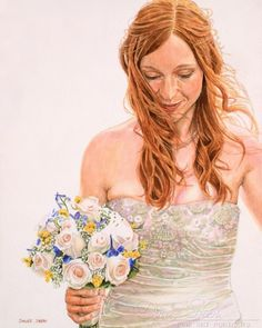 Wedding Art, Happily Ever After, Believe, Watercolor, Painting, Instagram, Pen And Wash, Watercolor Painting, Painting Art